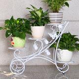 欧式花架铁艺多层落地阳台吊兰花盆架简约室内客厅绿萝花架子特价