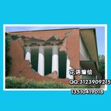 外墙大型建筑广告壁画 3D壁画立体画 墙体彩绘 手绘油画 广州墙绘