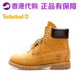 timberland 男鞋高帮女鞋10061户外工装鞋防水代购添柏岚经典黄靴