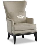 特价单人老虎椅 欧式布艺沙发 高背椅书房休闲椅 新古典高档家具