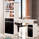 欧式家用烤漆客厅吧台门厅酒柜玄关装饰屏风柜隔断双面橱柜间厅柜