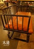 美式铁艺双人椅休闲简约卡座复古户外长椅沙发椅情侣客厅靠背椅子