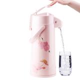 宝菱气压式热水瓶家用保温壶不锈钢暖壶玻璃内胆暖瓶暖水瓶开水瓶