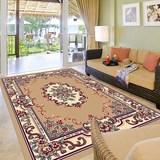 大地毯 客厅茶几古典沙发卧室床边田园地垫长方形现代中美式脚垫