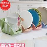 优质厨房碗碟置物架餐盘子沥水架塑料橱柜收纳架碟子滴水大号用品
