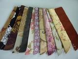 批发日式女扇子折扇子扇套,工艺礼品扇子,扇套,棉麻面料