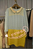 特价处理Five plus5+专柜正品秋款雪纺碎花连衣裙2126084580