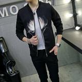 2016春季新款男士外套 青年韩版学生上衣修身潮款 日系薄款夹克