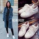 香港代购正品Common Projects明星同款鞋小白鞋真皮韩版休闲女鞋