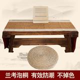 带共鸣箱便携古琴桌凳伏羲式古琴桌仲尼式实木琴桌桐木琴台包邮