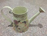 家居客厅餐厅装饰欧式风格铁艺桶洒水壶花桶花瓶