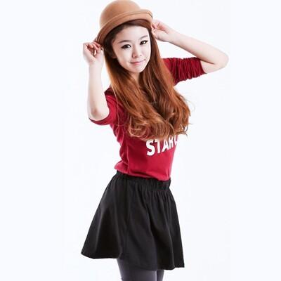 2014夏装新款韩版女装大码短裤裙裤纯棉宽松高腰休闲裤女