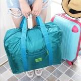 韩版超大容量男士旅行袋可折叠防水行李包衣物收纳袋多功能手提袋
