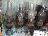 热卖老上海民俗老式煤油灯怀旧老物件老罩灯玻璃灯罩可收藏陈列道