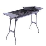 烧烤工具便携加厚烧烤炉户外家用不锈钢折叠烧烤架大号木炭烧烤炉