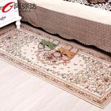 田园床边地毯卧室 沙发地毯 客厅 加长长方形地毯 榻榻米飘窗地毯