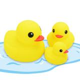 婴儿玩具 儿童洗澡玩具 洗澡鸭子小黄鸭 宝宝玩具 戏水鸭子 包邮