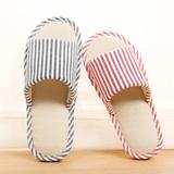 亚麻拖鞋男女士夏季情侣居家居室内地板防滑棉厚底时尚凉拖鞋夏天