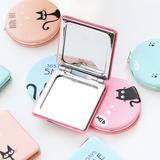 简爱●迷你小巧随身镜卡通可爱创意旅行便携化妆折叠小镜子双面镜