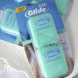 美国进口Oral-B欧乐Glide Floss舒适薄荷味扁线牙线 40M 2件