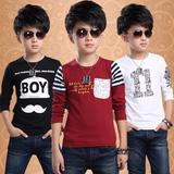 男童T恤2016春装新款小男孩子韩版长袖打底衫休闲儿童装宝宝上衣