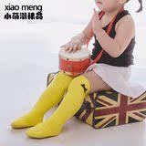 韩国婴儿袜子春夏薄纯棉男女儿童可爱过膝中筒袜高筒袜宝宝长筒袜