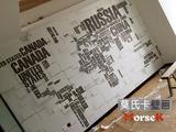 电视背景墙纸客厅3D立体英文字母无纺布壁纸无缝大型壁画世界地图