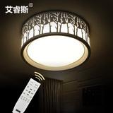圆形led吸顶灯现代简约卧室灯客厅灯创意温馨书房灯具餐厅灯饰