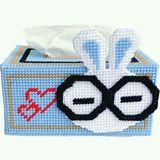立体绣3D新款客厅毛线家居手工艺术长方形抽纸巾盒收纳盒包邮