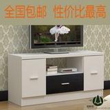 包邮卧室电视柜客厅小户型高款电视柜视听柜简约白色客厅组合地柜