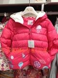 安踏童装女童羽绒服2015新款冬装小童白鸭绒加厚羽绒风衣36549910