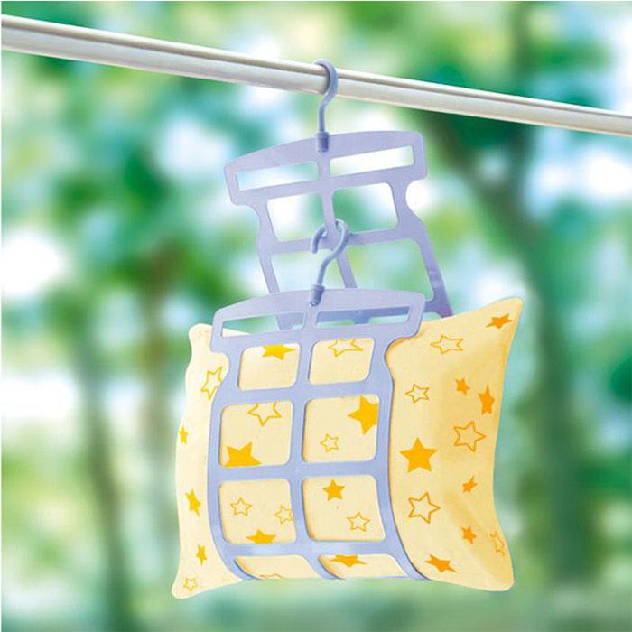 日本SANADA晒枕架 多用途晾晒架 枕头晾晒夹 玩具公仔晾晒架