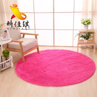 圆形地毯健身瑜伽吊篮电脑椅垫客厅卧室装饰可爱床边地毯