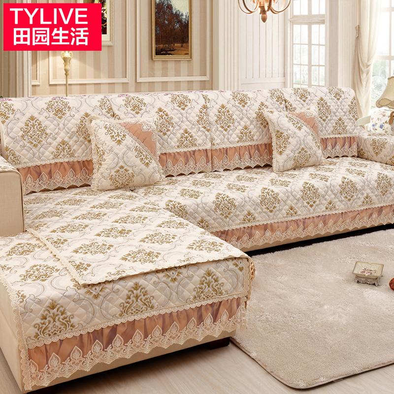 沙发垫布艺简约现代四季欧式坐垫子防滑组合通用实木皮沙发套罩巾