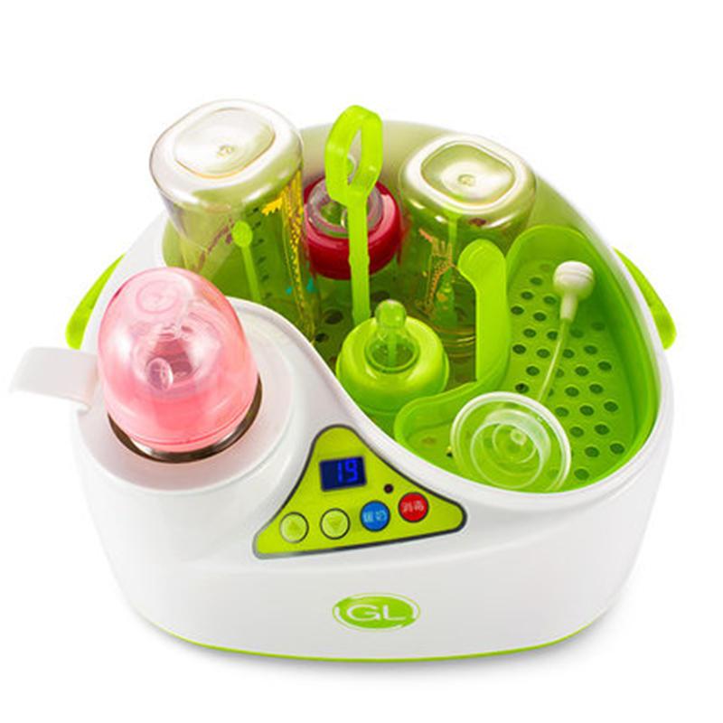 格朗宝宝奶瓶消毒器婴儿多功能蒸汽消毒锅煮奶暖奶器一体消毒柜
