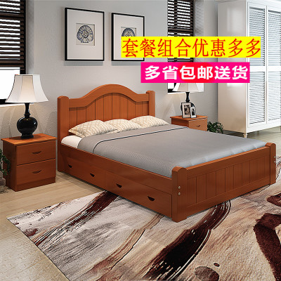 欧式公主风格设计的实木床