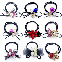 Beautiful 3-20 pieces of head rope Korean hair ring hair accessories headdress adult children wild tie hair rubber band hairpin