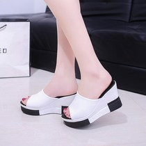 Summer fashion home home cool slippers female couple indoor and outdoor bath bath non-slip slippers slippers men summer