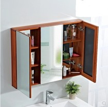 Mirror wall-mounted vanity mirror home bathroom mirror cabinet bathroom mirror toilet right angle glass mirror rectangular half mirror