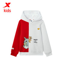 (Cat and mouse)special step childrens childrens hooded sweater mens childrens pullover fashion leisure 2020 spring