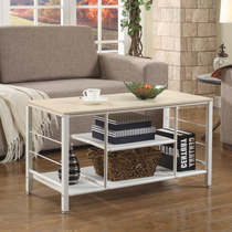 Space life simple modern solid wood coffee table Fashion Square Table living room dining table bedroom coffee table