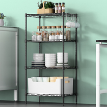 Space living floor rack kitchen vegetables rack fruit rack storage rack rack bathroom four shelves