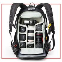 Anno professional photography double shoulder large capacity multi-function portable geographic Canon Nikon Sony SLR camera backpack