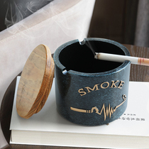 Multi-functional Nordic small fresh ashtray creative home personality trend Internet cafe hotel living room ktv European smoke.
