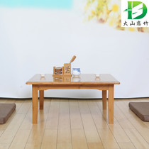 Dashan love bamboo bamboo floating window table tatami several four-square table on mahjong table small table table table northeast table.