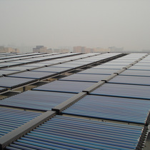 Sanggao solar energy hot water system engineering box collector commercial hotel hot water heating system.
