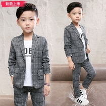 Spring and spring boy Suit Suit childrens casual small suit jacket Jacket childrens clothing Korean version of the tide 2019 New