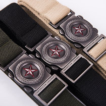 Outdoor Cobra tactical belt male multi-function special forces within the training Army fan nylon canvas belt