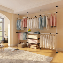 Cloakroom custom Overall wardrobe custom modern simple walk-in open bedroom clothes cabinets Full House customization