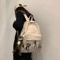 Bag female Korean high school Harajuku ulzzang Tide brand backpack college students simple ins wind Hyuna shoulder bag